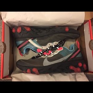 Nike Element React 87 Blue Chill Solar Red